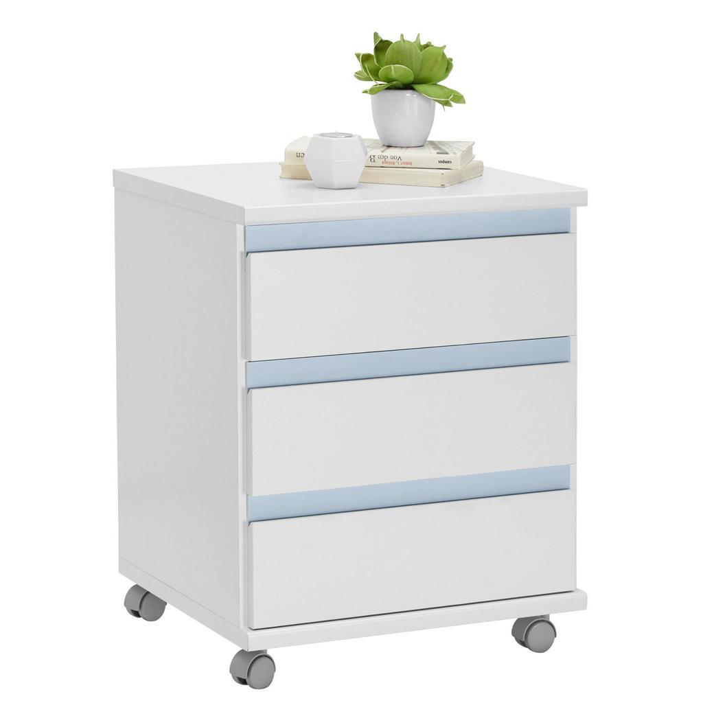 Amüsant Rollcontainer Kunststoff Dekoration Von Carryhome Weiß