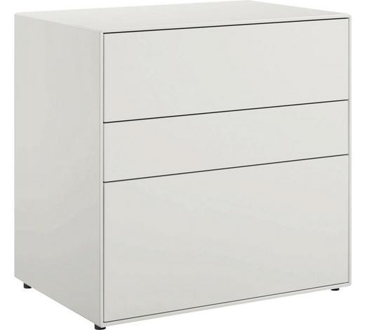 LOWBOARD 64/64/44,8 cm  - Schwarz/Weiß, Design, Holzwerkstoff (64/64/44,8cm) - Now by Hülsta
