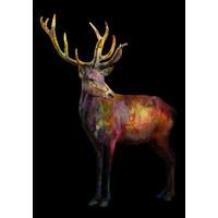 BILD - Multicolor, Trend, Holz/Textil (70/100cm)