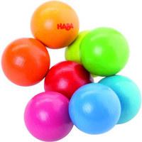GREIFLING - Multicolor, Basics, Holz (6/10cm) - Haba