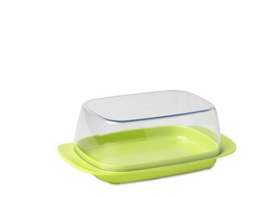 BUTTERDOSE Kunststoff - Grün, Basics, Kunststoff (17/10/6cm) - MEPAL ROSTI