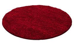 HOCHFLORTEPPICH   gewebt  Rot   - Rot, KONVENTIONELL, Textil (120cm) - Novel
