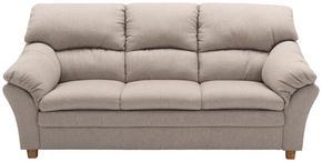 SOFFA - sandfärgad/ekfärgad, Modern, trä/textil (213/100/92cm) - Hjort Knudsen