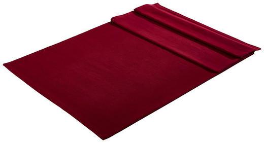 TISCHDECKE Textil Webstoff Bordeaux 150/250 cm - Bordeaux, Textil (150/250cm) - Bio:Vio