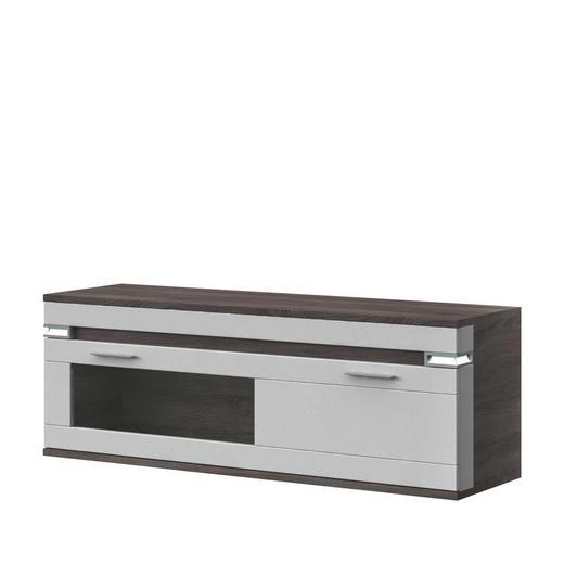 HÄNGESIDEBOARD Melamin - Alufarben/Braun, Design, Kunststoff/Metall (140,1/49/41cm) - Stylife