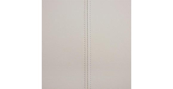 SCHWINGSTUHL in Metall, Textil Chromfarben, Hellgrau - Chromfarben/Hellgrau, Design, Textil/Metall (58,5/99,5/46cm) - Hom`in