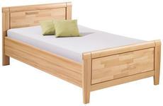 BETT 120 cm   x 200 cm   in Holz, Holzwerkstoff Buchefarben - Buchefarben, KONVENTIONELL, Holz/Holzwerkstoff (120/200cm) - Venda