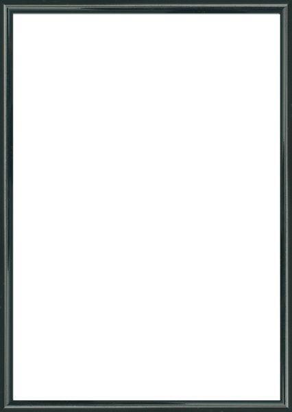 BILDERRAHMEN  Schwarz - Schwarz, Basics, Glas/Kunststoff (25/31cm)
