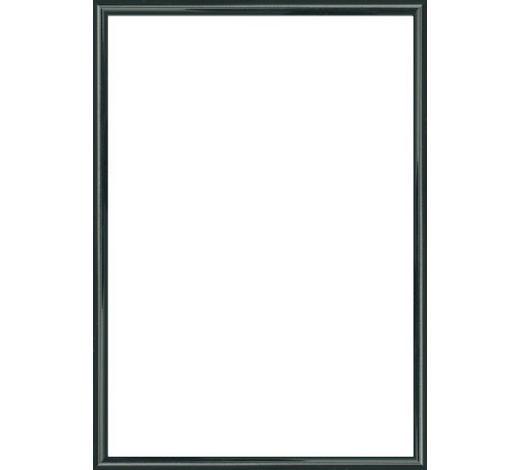 BILDERRAHMEN in Schwarz  - Schwarz, Basics, Glas/Kunststoff (25/31cm)