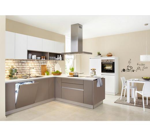 EINBAUKÜCHE  - Schlammfarben/Weiß, Design - Nolte Küchen