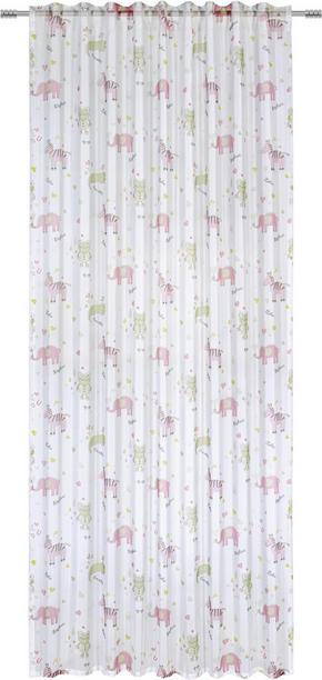 GARDIN FÖR BARN - pink/grön, Klassisk, textil (140/245cm) - My Baby Lou