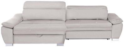 WOHNLANDSCHAFT in Textil Creme  - Silberfarben/Creme, MODERN, Kunststoff/Textil (175/270cm) - Carryhome