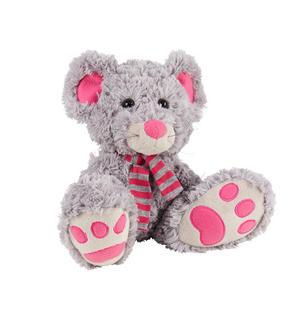 KRAMDJUR - pink/grå, Basics, textil (23cm) - My Baby Lou