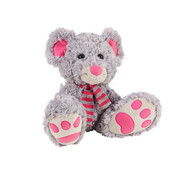 PLÜSCHTIER - Pink/Grau, Basics, Textil (23cm) - My Baby Lou