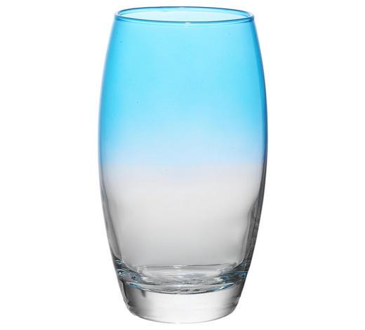 LONGDRINKGLAS 510 ml  - Türkis/Klar, Trend, Glas (6,6/14,5cm) - Homeware