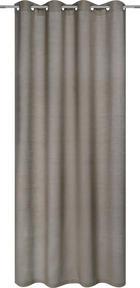 ZAVESA Z OBROČKI RAMIE - rjava, Trendi, tekstil (135/245cm) - Esposa