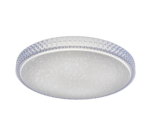 STROPNA LED SVETILKA FRIDA - bela, Design, kovina/umetna masa (60/60/11cm)