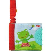 Buggybuch  Frosch   - Basics, Textil (12/10cm) - Haba