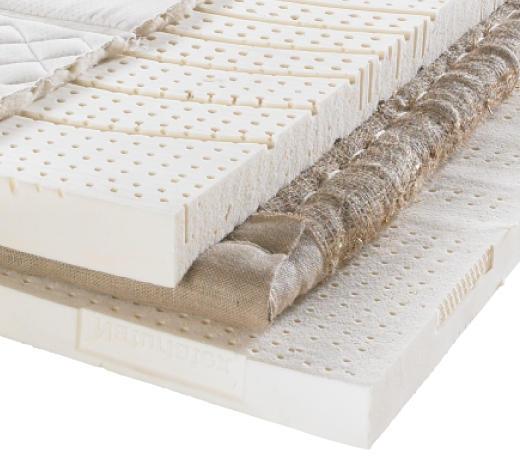 LATEXMATRATZE 90/200 cm - Beige, Basics, Textil (90/200cm) - Sembella
