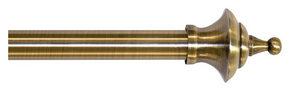 GARDINSTÅNGSET - bronsfärgad, Basics, metall (120-210cm)