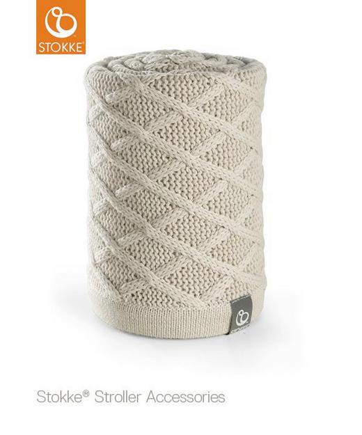 BABYDECKE - Creme, Basics (77/100cm) - Stokke