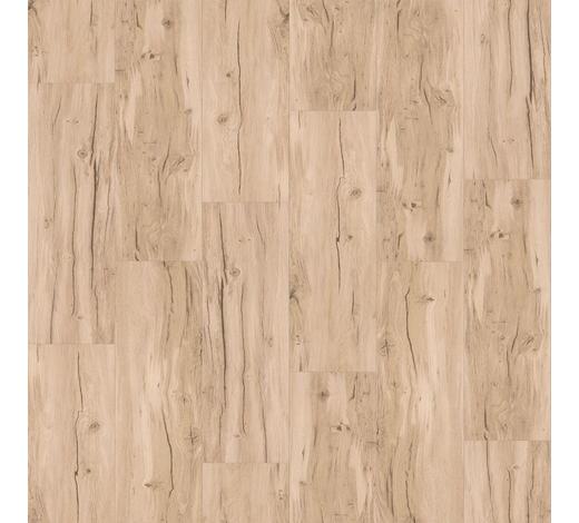 VINYLBODEN per  m² - Hellbraun/Eichefarben, MODERN, Holzwerkstoff/Kunststoff (120,7/21,6/0,94cm) - Parador