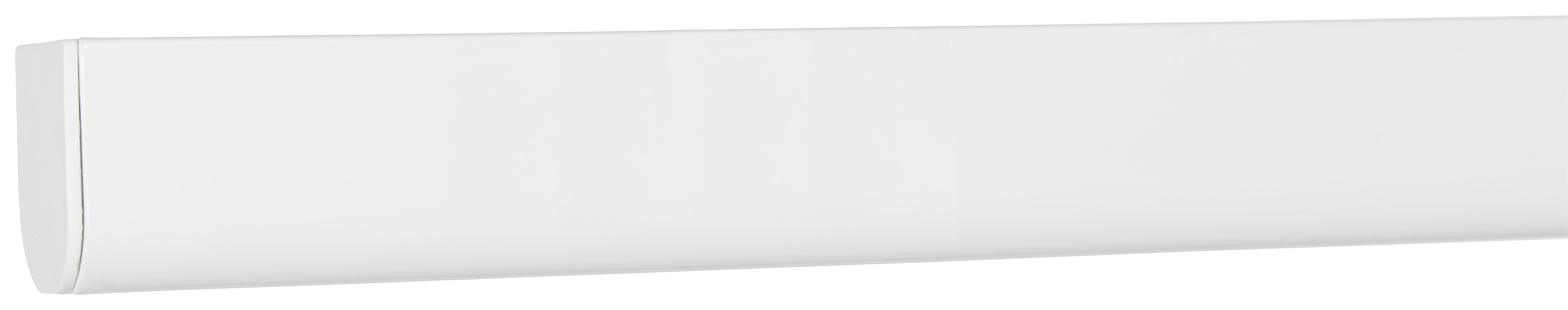 Levně Homeware KOLEJNIČKA NA ZÁVĚSY, 200-350 cm - bílá
