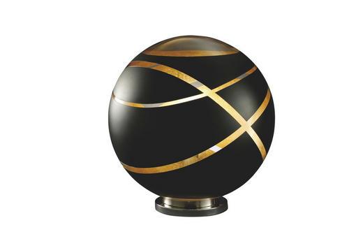 TISCHLEUCHTE - Chromfarben/Goldfarben, LIFESTYLE, Glas/Metall (50,0/50,0cm)