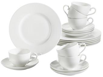 KAFFEESERVICE 18-teilig - Weiß, KONVENTIONELL, Keramik - VILLEROY & BOCH