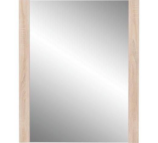 OGLEDALO - hrast Sonoma, Konvencionalno, staklo/drvni materijal (74/93/4cm) - Cantus