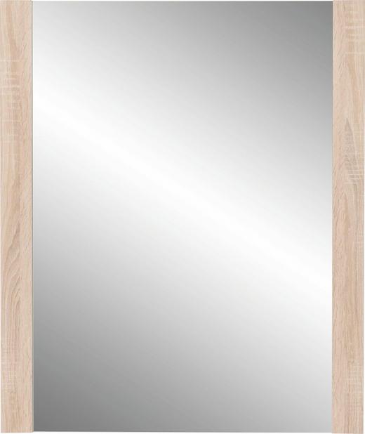 SPIEGEL Sonoma Eiche - Sonoma Eiche, Basics, Glas/Holzwerkstoff (74/93/4cm) - Cantus