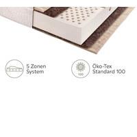 LATEXMATRATZE 80/200 cm  - Weiß, Basics, Naturmaterialien/Textil (80/200cm) - Joka