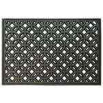 Fußmatte Dorothea - Silberfarben, Basics, Kunststoff (40/60cm) - James Wood