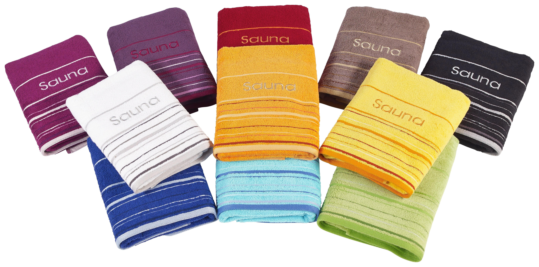 RUČNÍK DO SAUNY - béžová, Basics, textil (70/200cm) - ESPOSA