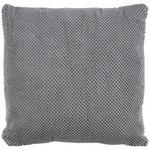 Zierkissen Floreta - Hellgrau, MODERN, Textil (45/45cm) - Luca Bessoni
