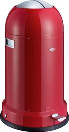 ABFALLSAMMLER Kickmaster CL Soft 33 L - Rot/Schwarz, Basics, Kunststoff/Metall (41/69cm) - Wesco
