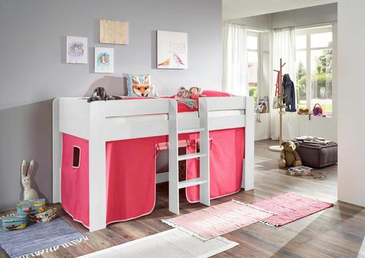 SPIELVORHANG Pink, Rosa - Pink/Rosa, Design, Textil