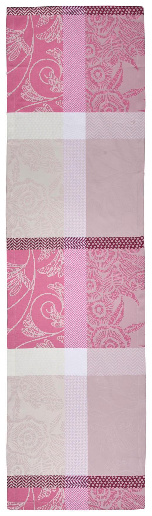 TISCHLÄUFER Textil Rosa 40/140 cm - Rosa, KONVENTIONELL, Textil (40/140cm) - Esposa
