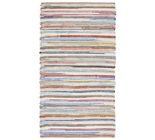 Handwebteppich 130/190 cm  - Multicolor, Natur, Textil (130/190cm) - Linea Natura