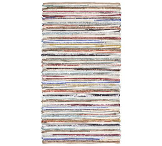 Handwebteppich 90/160 cm - Multicolor, Natur, Weitere Naturmaterialien (90/160cm) - Linea Natura
