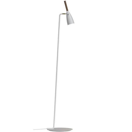 STEHLEUCHTE - Weiß, MODERN, Holz/Metall (30/150cm)