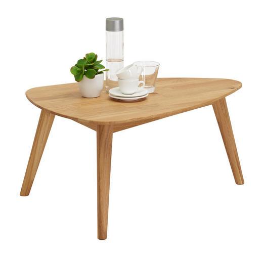 COUCHTISCH in Holz - Eichefarben, Design, Holz (70/50/35cm) - Linea Natura