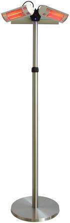 TERRASSENSTRAHLER ZHQ3080-3 - Silberfarben, KONVENTIONELL, Metall (46/46/220cm)