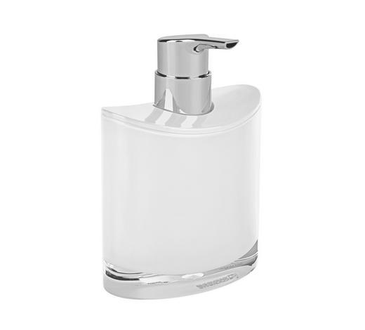 SEIFENSPENDER Kunststoff - Weiß, Basics, Kunststoff (10,8/11,2/6,4cm) - Sadena
