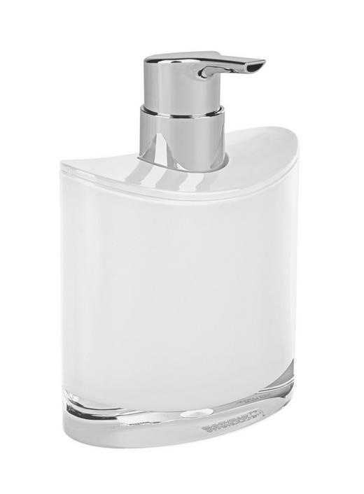 SEIFENSPENDER - Weiß, Basics, Kunststoff (10,8/11,3/6,4cm)