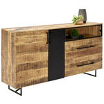 SIDEBOARD 160/84/37 cm  - Schwarz, Trend, Holz/Metall (160/84/37cm) - Ambia Home