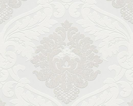 VLIESTAPETE 10,05 m - Creme/Hellgrau, Design, Textil (53/1005cm)