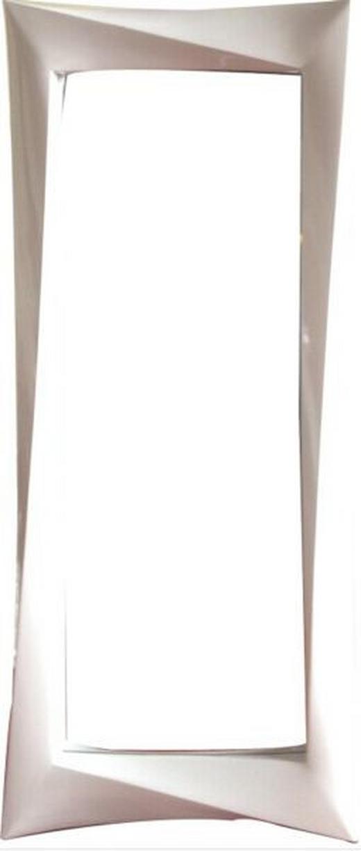SPIEGEL Weiß - Weiß, Design, Glas/Kunststoff (66/168/6cm) - Xora