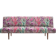 SCHLAFSOFA in Textil Multicolor - Dunkelbraun/Multicolor, Design, Holz/Textil (200/84/93cm) - Innovation
