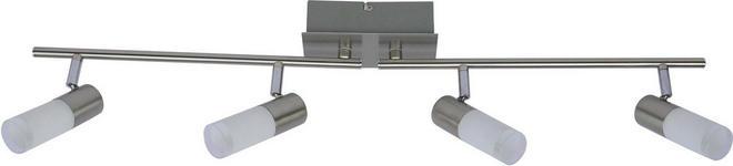 LED-STRAHLER - Chromfarben, Design, Glas/Metall (83,5/15,5/8cm) - Boxxx